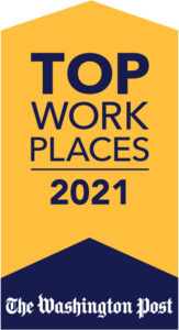 Washington Post Top Places to Work 2021